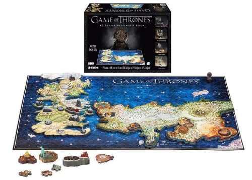 Rompecabezas Puzzle 4d Game Of Thrones Westeros & Essos