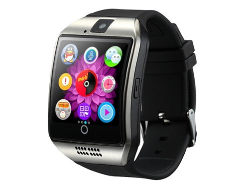 Smartwatch Curvo Reloj Inteligente Celular Chip Sd Bluetooth