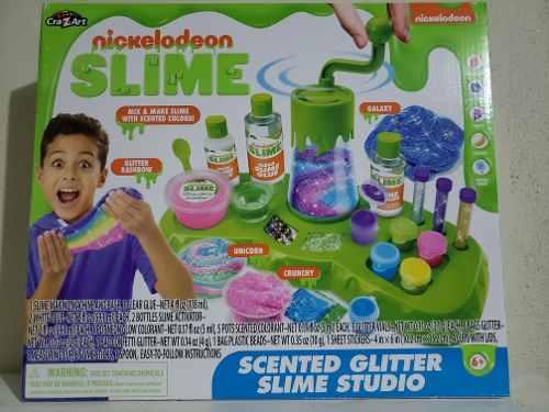Súper Slime Studio Original Nickelodeon El Más Completo
