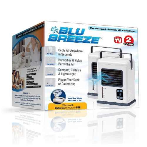 Acondicionador De Aire Portátil Blu Breeze Nuevo En Caja