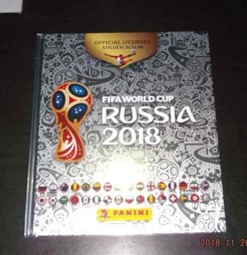 Album Rusia  Panini Pasta Dura Platinum
