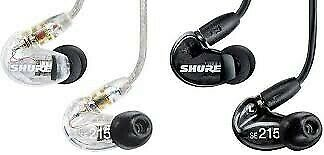 Audífonos In-ear Shure con Aislamiento de Sonido SE215 CL