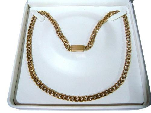 Cadena Barbada De Oro Macizo 14k 50cm. Pesa 70grs Solid Gold