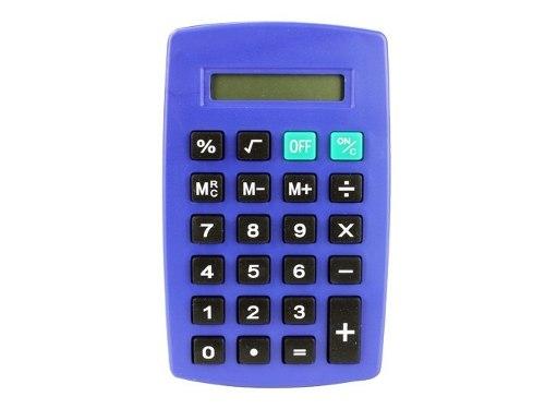 Calculadora Digital Compacta 8 Dígitos Ergonómico