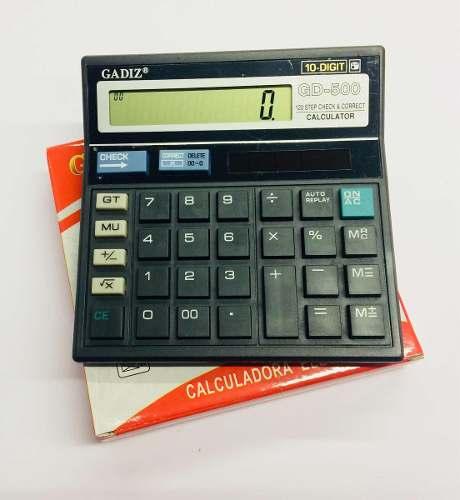 Calculadora Electronica Gadiz Modelo Gd-500