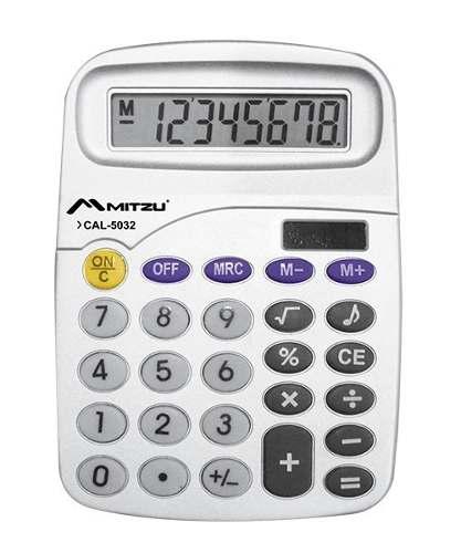 Calculadora Musical Con 8 Dígitos