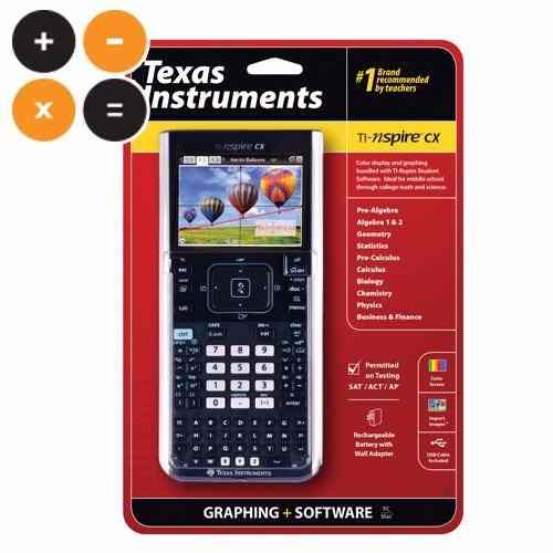 Calculadora Texas Instruments Ti Nspire Cx Con Estuche