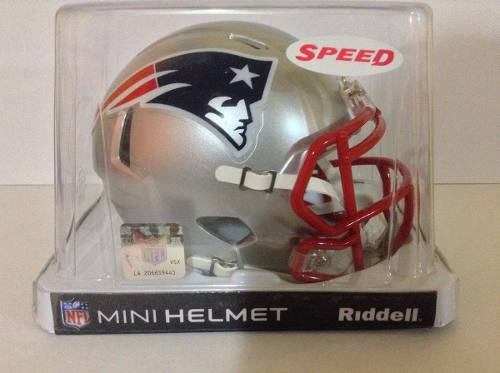 Casco Nfl Mini Helmets Riddell Speed New England Patriots