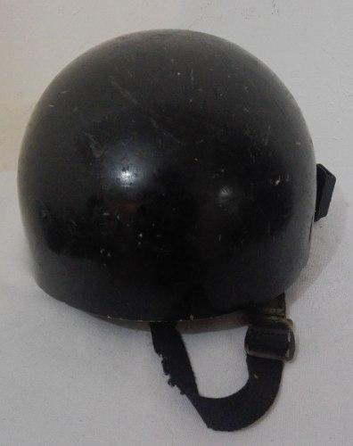 Casco Para Moto De Coleccion Antiguo Negro Talla M Solo $200