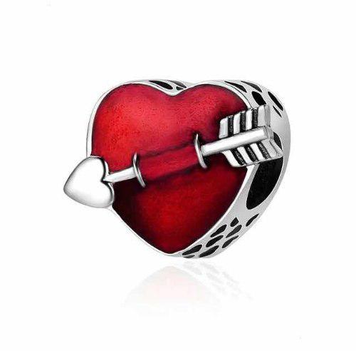 Charm My First Love De Plata Compatible Pandora