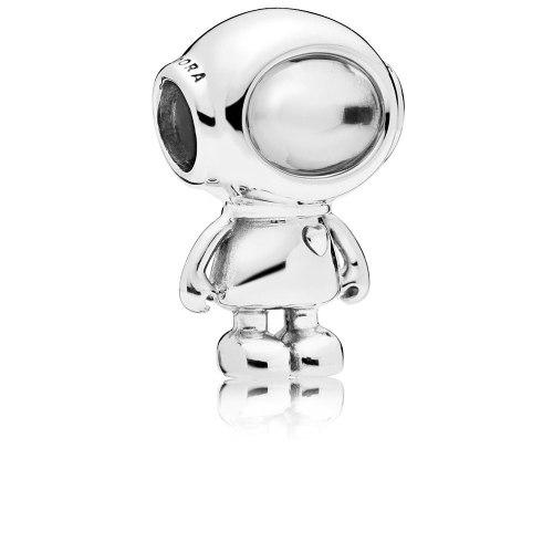 Charm Pandora Astronauta Cosmo Tommy Plata S925 Ale