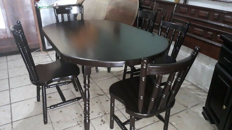 Comedor y bufetero estilo americano