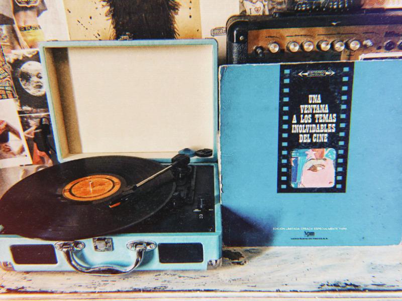 Disco LP acetato vinil 33 rpm una ventana a los temas