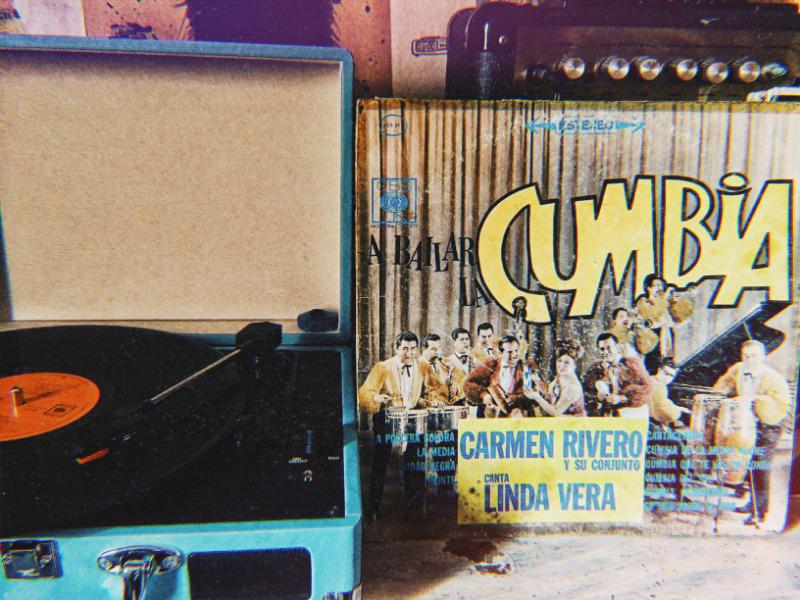 Disco ep vinil acetato 45rpm Carmen Rivero y su conjunto con