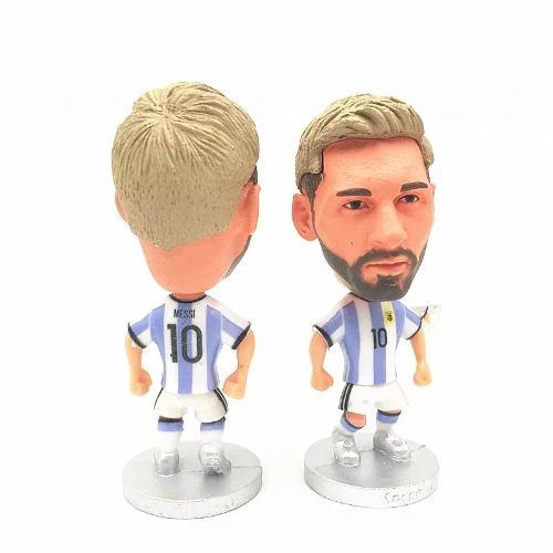 Figura Futbol Lionel Messi Uniforme Argentina