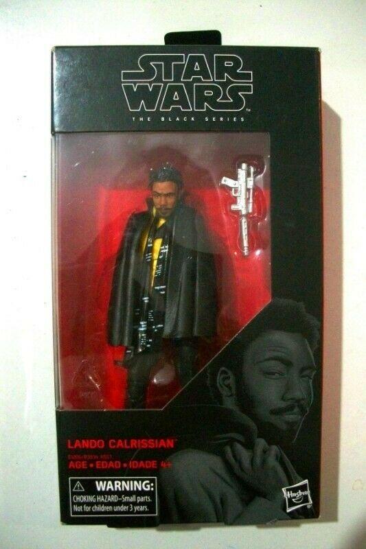 Figura Star Wars Lando Calrissian Black Series 6p Solo