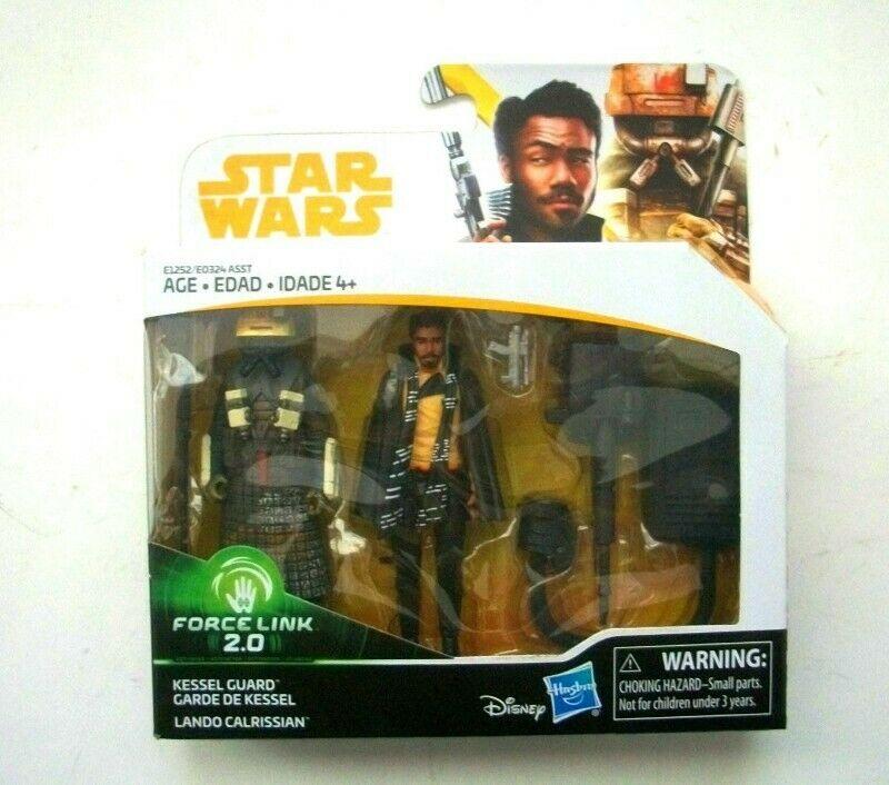 Figuras Star Wars 2-pack Lando Calrissian y Guardia de