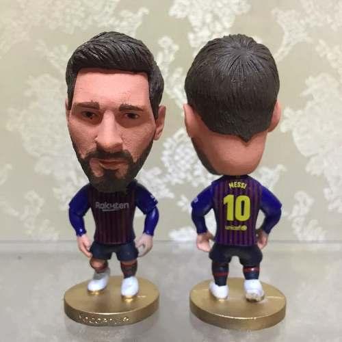 Futbol Figura Lionel Messi Uniforme Barcelona Casa
