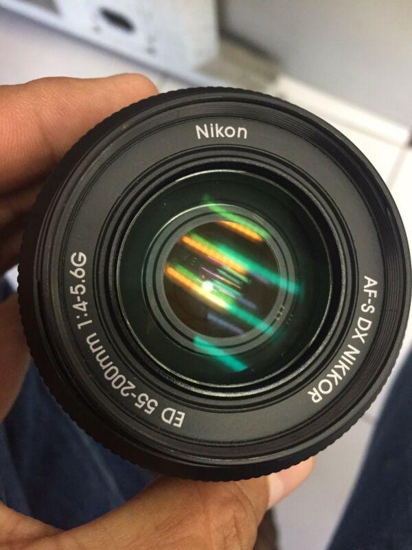 Lente cámara nikon