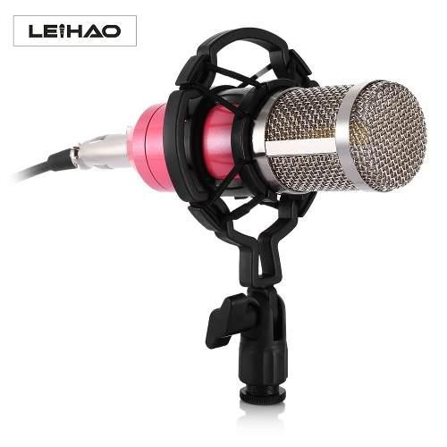 Microfono Condensador Bm800 Profesional + Usb 7.1 C/envio