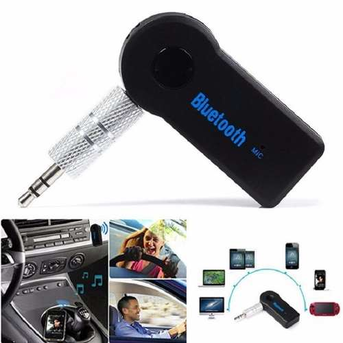 Receptor Audio Bluetooth Recargable Microfono Mayoreo