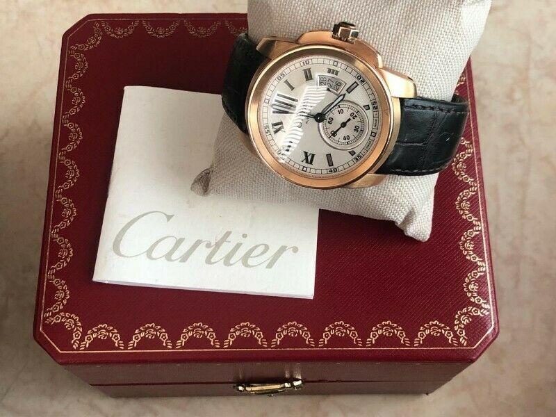 Reloj Cartier Oro rosa