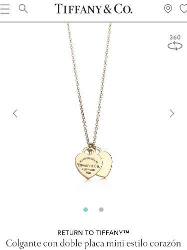 Tiffany Collar Oro Please Return Tiffany & Co Tous Tiffany
