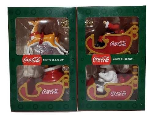 Trineo Navideño Coca Cola  Coleccion Completa Cocacola