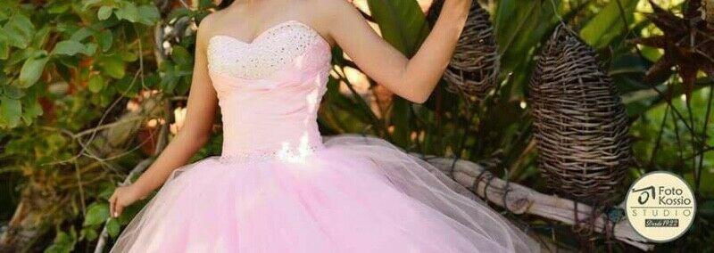 Vestido De Xv Años En Color Rosa Pastel Posot Class