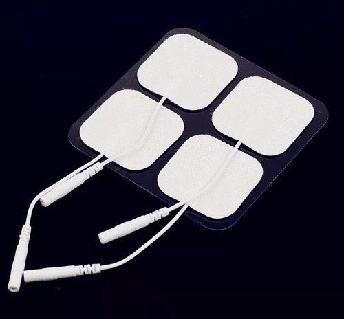 10 Electrodos Para Electroestimulador Tens De 5x5cm.