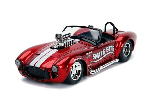 1/24 Shelby 65 Cobra 427 Snake Bite Convertible Metal Jada