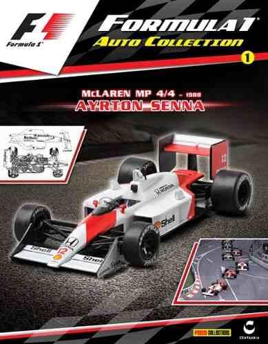 Autos Colección Formula1 F1 Pannini Del #1 Al #80