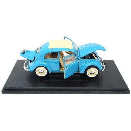 Azul Volkswagen Beetle  Vocho Nuevo Escala 1:18 Welly