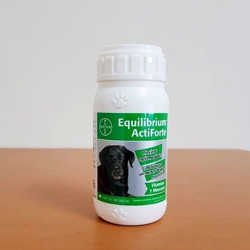 Bayer Equilibrium Actiforte Vitaminas Y Minerales 60 Tbs