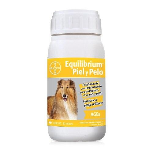 Bayer Equillibrium Para Piel Y Pelo 60 Tabletas 2 Frascos