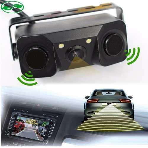 Camara De Reversa + Sensor Estacionamiento + Vision Nocturna