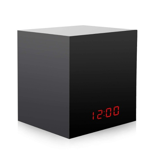 Camara Espia Oculta En Reloj Digital Internet Wifi Yi Home
