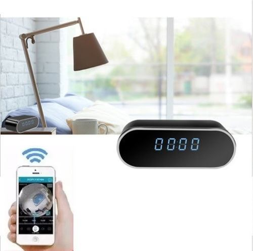Camara Espia Reloj Wifi Con App Android Ios