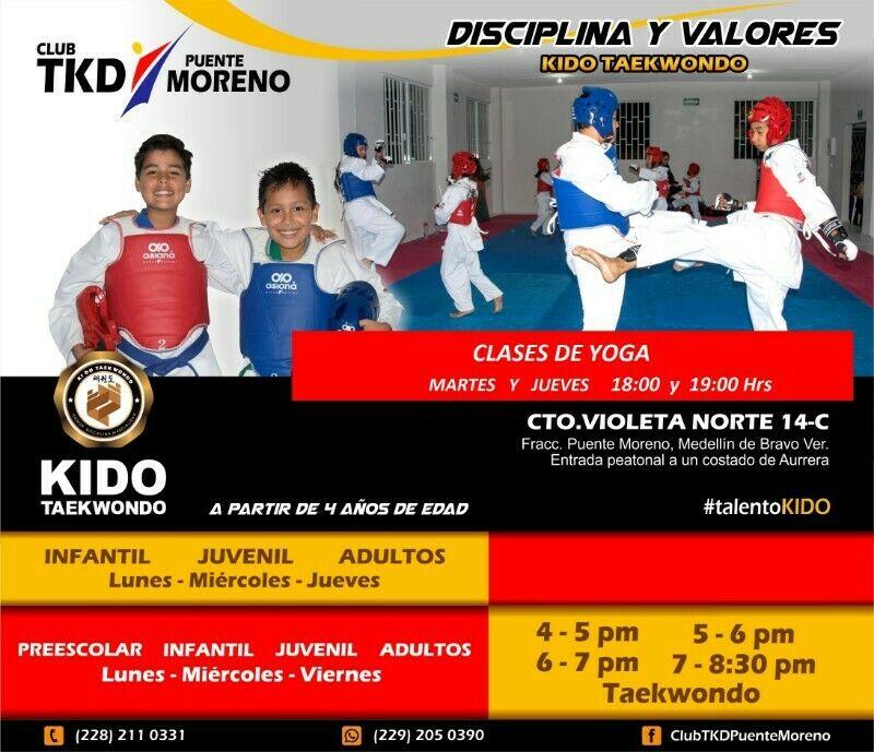 Clases De Taekwondo y Yoga