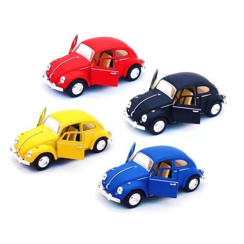 Colección 4 Vochos Escala 1:32 Volkswagen  Colores Mate