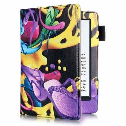 Colorful Shoes - Pu Cuero Magnética Flip Funda Para