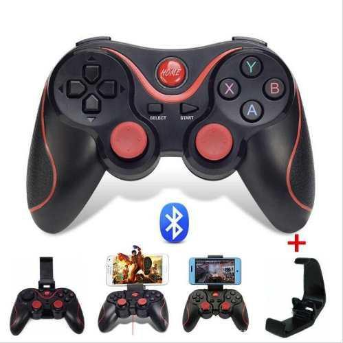 Control Gamepad Bluetooth Smartphone Con Soporte Universal