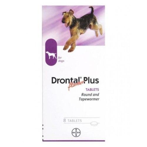 Drontal Flavour Plus 8 Tabletas  Wa