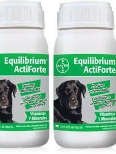 Equilibrium Actiforte 60 Tabletas 2 Frascos