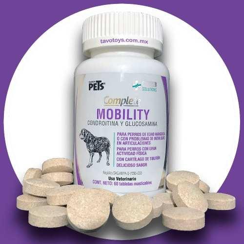 Glucosamina Y Condroitina Para Perro 60 Tabletas Masticables