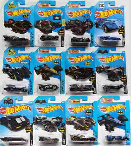 Hot Wheels 1/64 Batmovil Batman Justice League Dc Comics