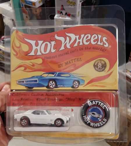 Hot Wheels 50 Aniversario Rlc Custom Camaro Blanco 1:64