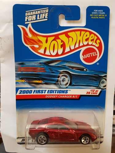 Hot Wheels Dodge Charger R/t Primera Edicion 1/64