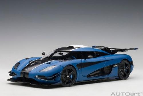 Koenigsegg One Imperial Blue Auto A Escala De Colección