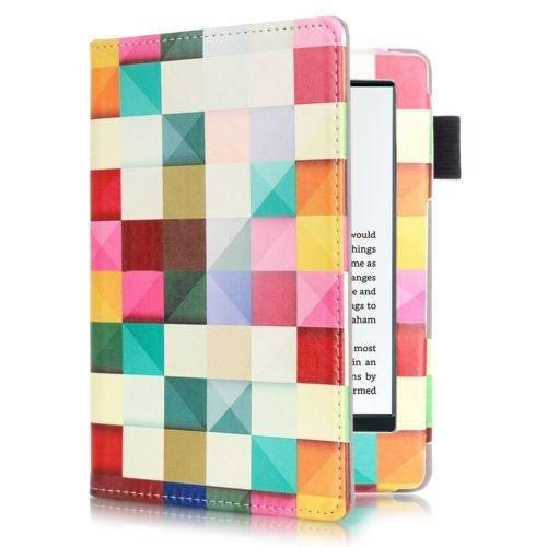 Magic Cube - Pu Cuero Magnética Flip Funda Para Amazon